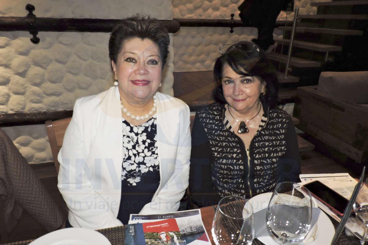 Rosario Castro y Rosy Bauer