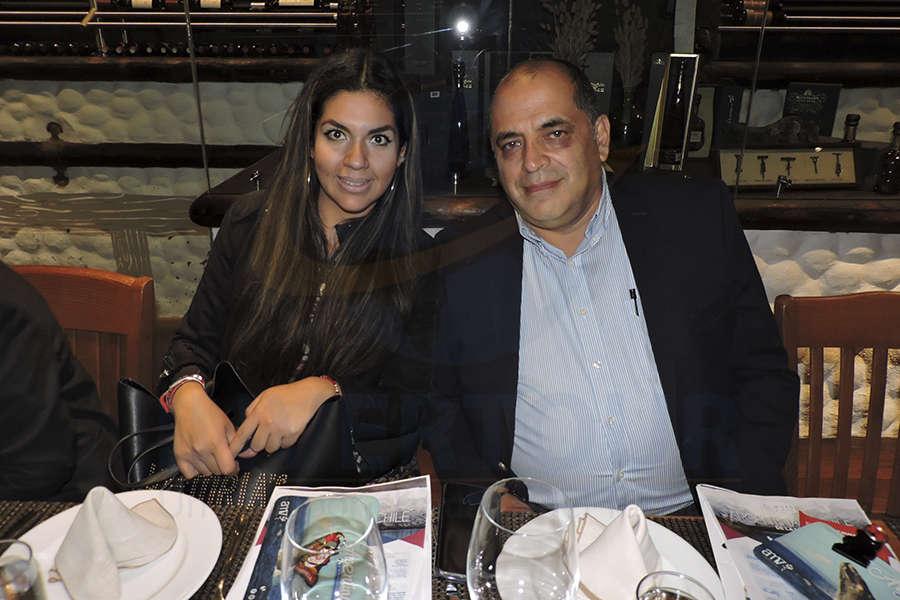 Georgina Téllez y Marco Soto