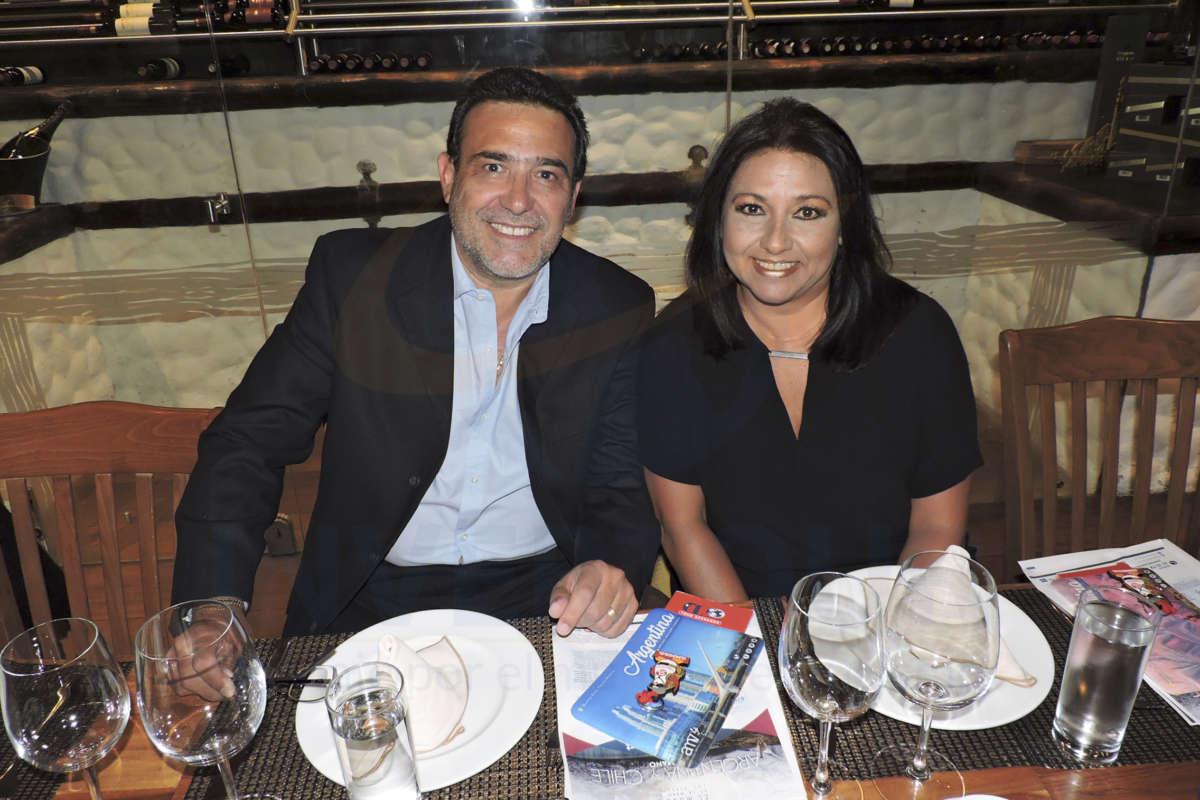 Benjamín Fragoso y María Inés González