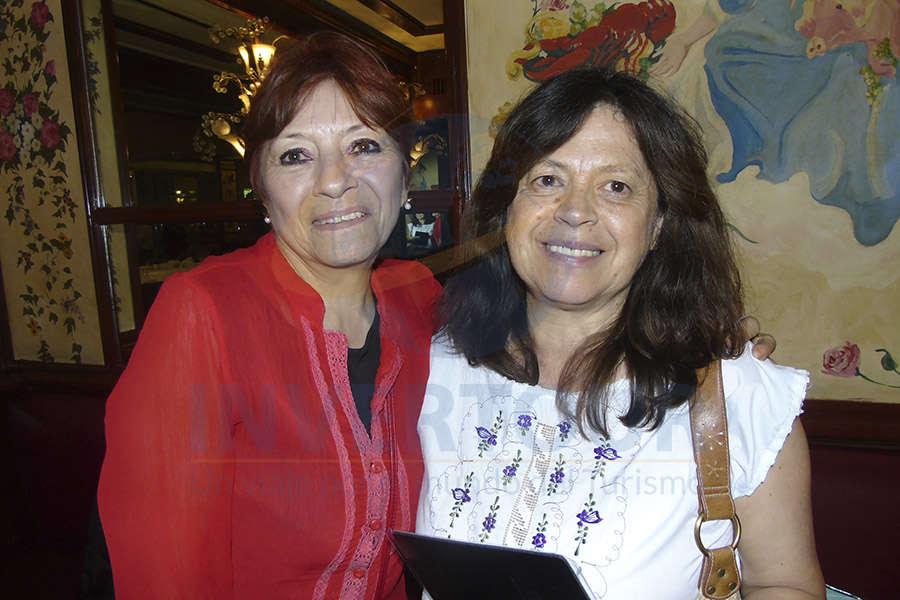 Lourdes Duarte y Sandra Rodas