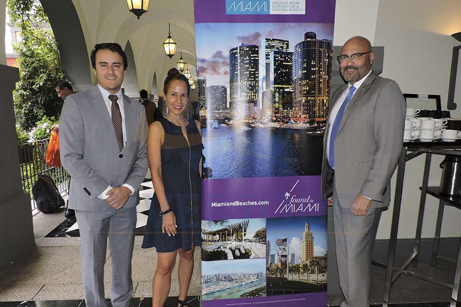 Joaquín Baena, Melina Martinez-Echeverria y Joe Docal