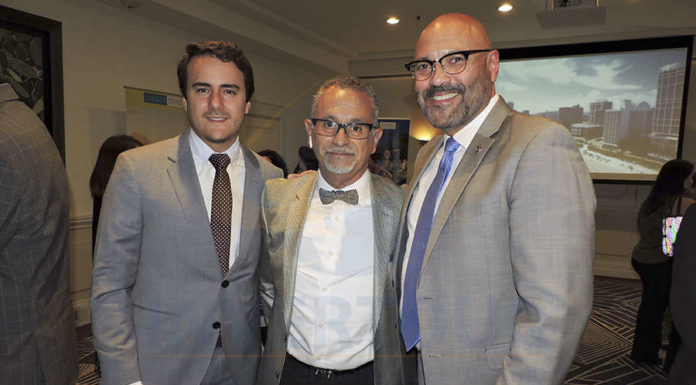 Joaquín Baena, Jaime Rogel y Joe Docal