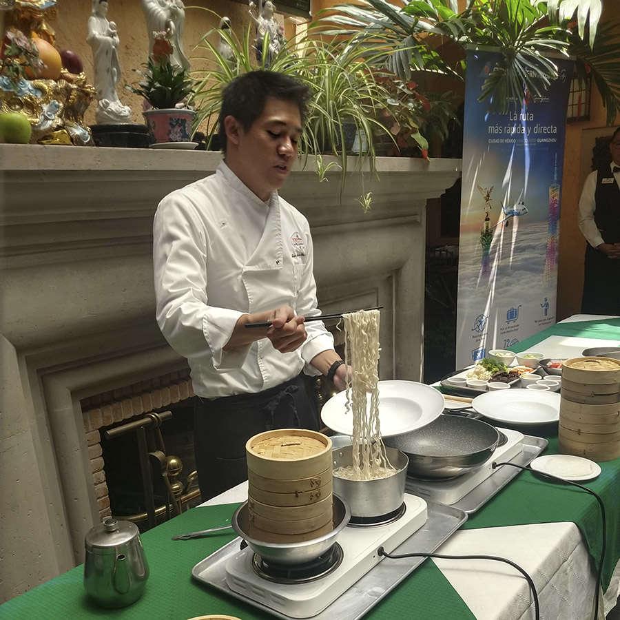Chef Luis Chiu