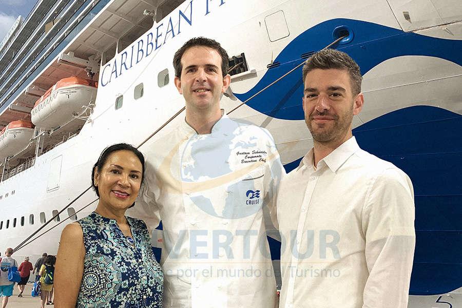 Ruth Leal, Gustavo Schneider y Ryan Barton, excelentes anfitriones en Sabor Latino