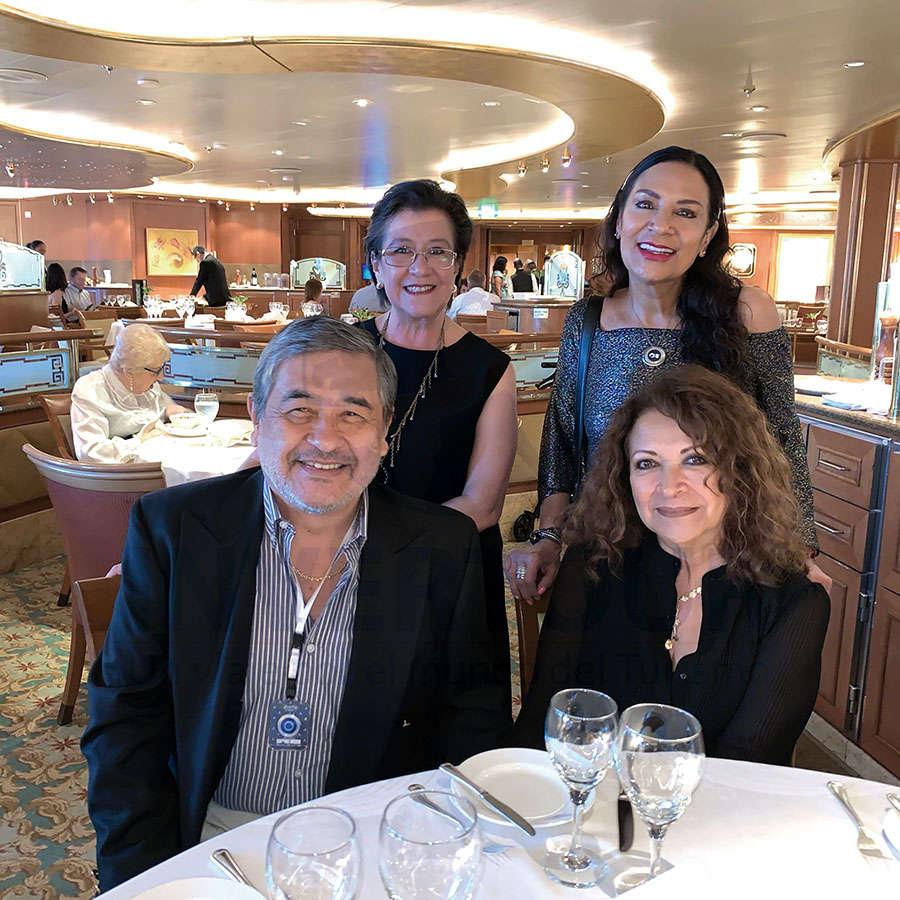 Jesús Martínez, Edith Aguilar, Ruth Leal y Maricarmen Martínez
