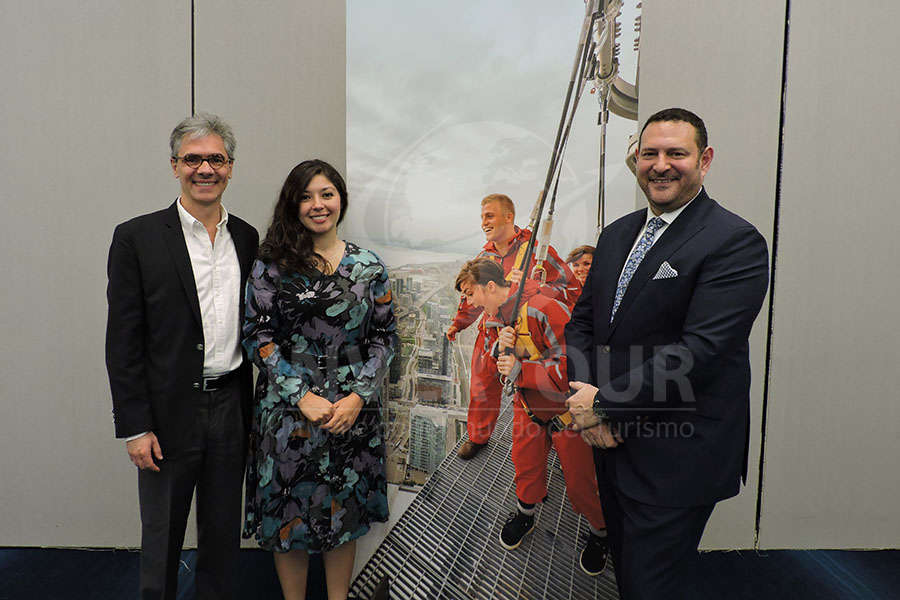 Jorge Morfín, Jessica Ortiz y David Goldstein
