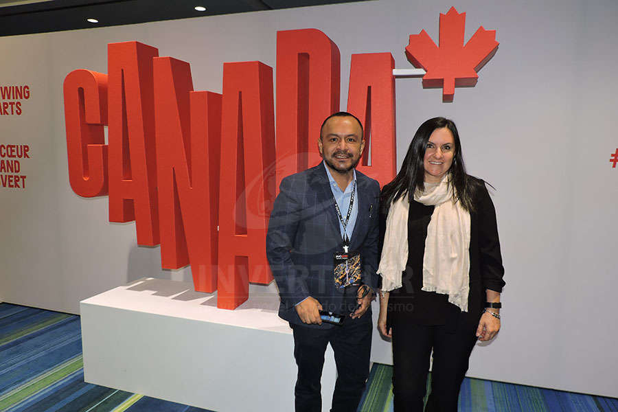 Miguel Galicia con Marisol Lecumberri