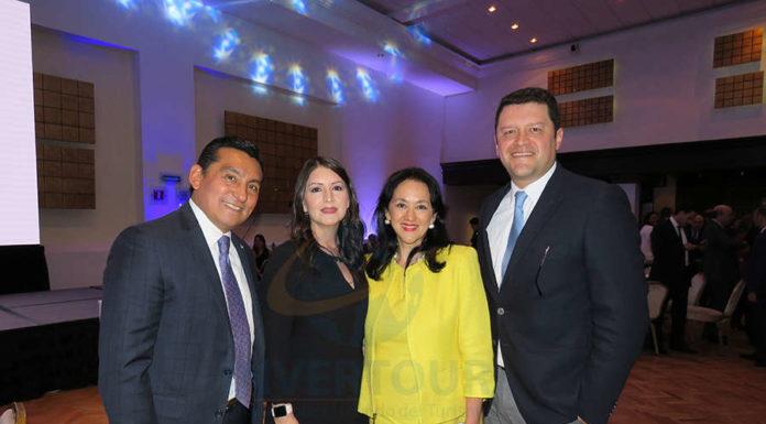 Edgar Solís, Vicky Uzal, Yarla Covarrubias y Juan Camilo Rincón