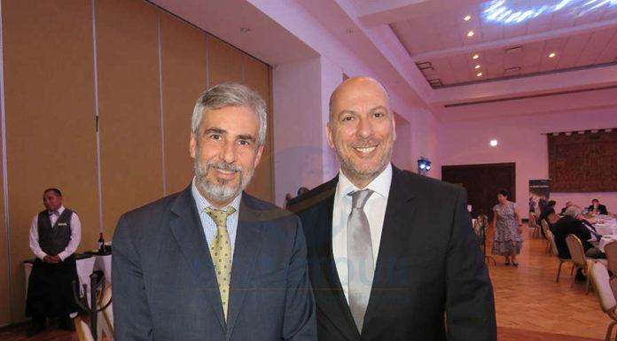 Ariel Olaverría y Carlos Bricka