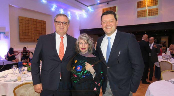 Luis Noriega, Berenice Lozano y Juan Camilo Rincón