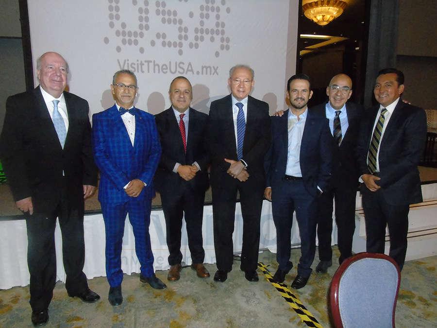 Isaac Brown, Jaime Rogel, Benjamín Izquierdo, Humberto Hernández, José Trauwitz, Erwin Romero y Edgar Solís