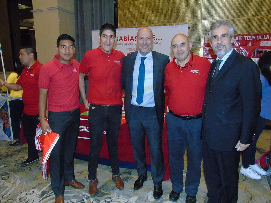 Alan Aguirre, Sergio Acosta, Carlos Bricka, Gerardo Olvera y Ariel Olaverría