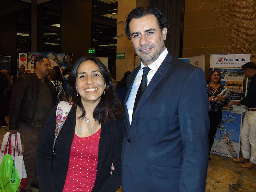 Ana Escamilla e Isidro Huerta