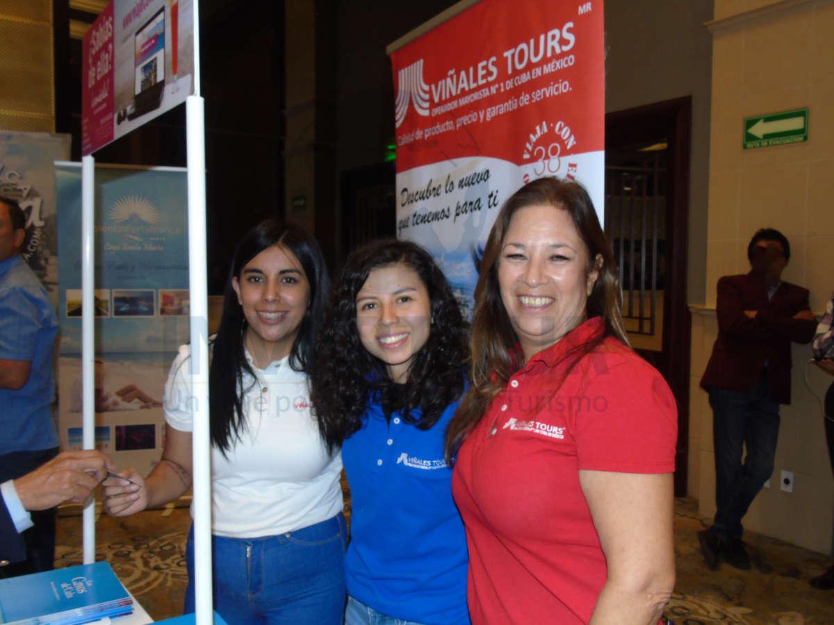 Lizbeth Díaz, Laura Ramírez y Maru Jaso