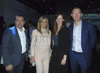 Alejandro Pérez, Lourdes Berho, Alexandra Leclerc y James Allen