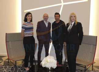 Cecilia Vilches, Sylvain Chauvet, Richard Orlinski y Sandrine Pressiat
