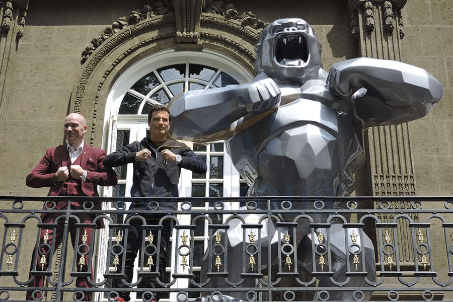 Sylvain Chauvet, Richard Orlinski y Wild Kong