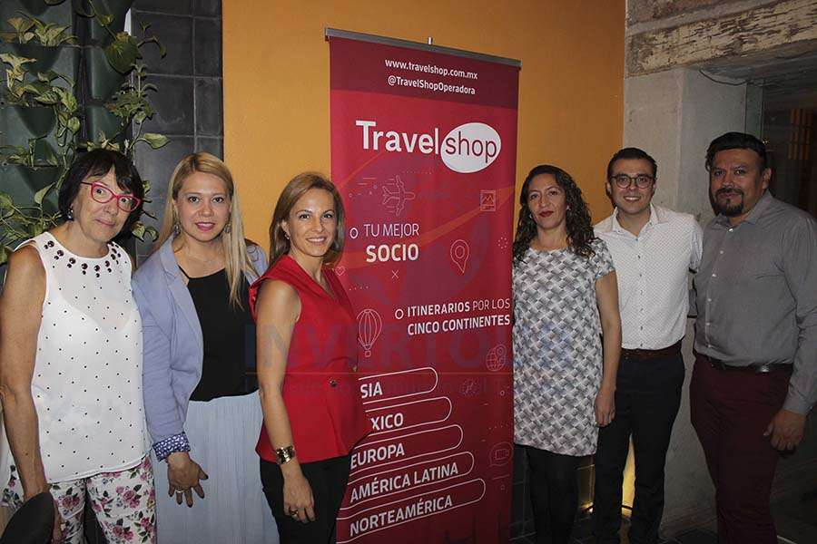 Maricela Bea, Soledad Silva, Adriana Diaz, Marcela Sánchez, Saúl Soto y Ulises Téllez