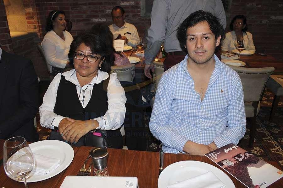Delma Vázquez y Benjamín Panecatl