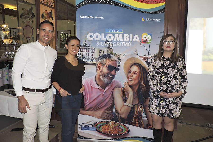 John Duque, Andrea Daza y Brisa Amaya