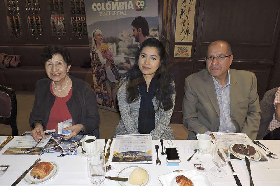 Yolanda de Martín, Jessica García y Joel García