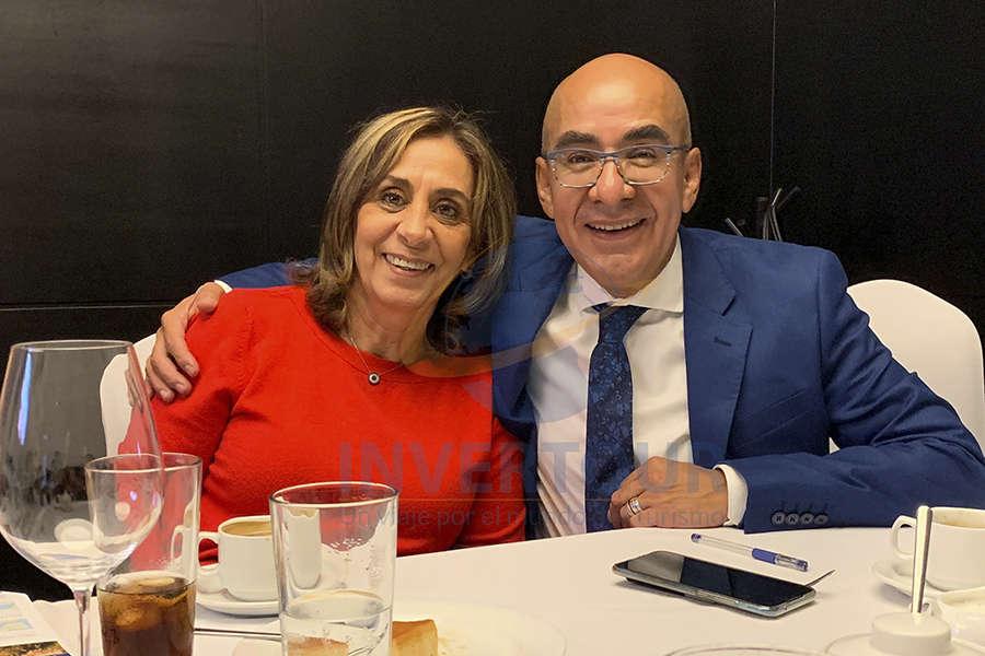 Sara Salame y Erwin Romero