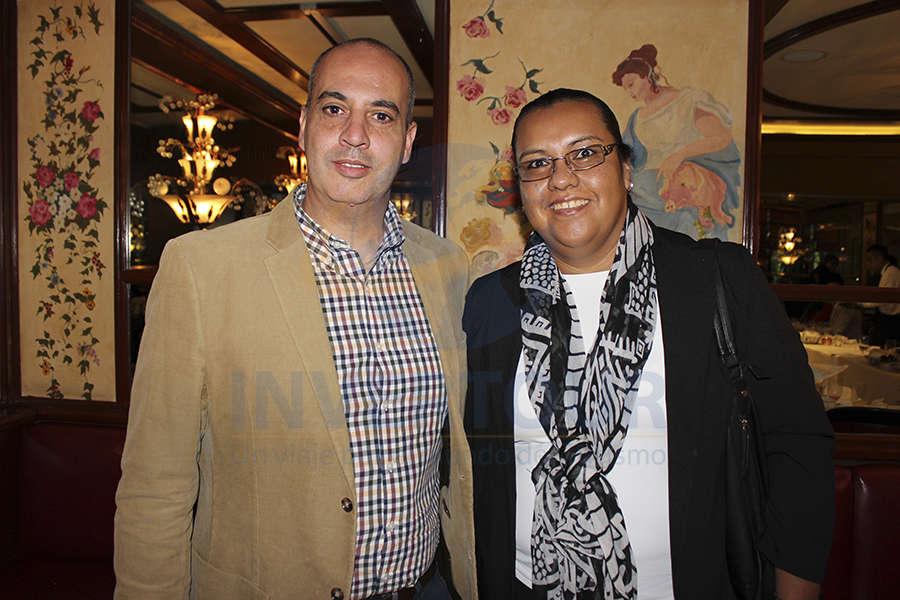 Leonardo Ravagnani y Nayely Gordillo