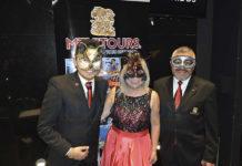 Andrés Mejía, Alicia Mejía y Jorge Mejía