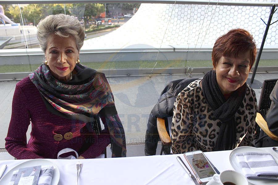 Alma Rebscher Bahnsen y María del Refugio Zárate