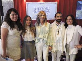 Montserrat Arcos, Tere Medina, Lourdes Berho, Aarón Ángeles y Vianney Cárdenas