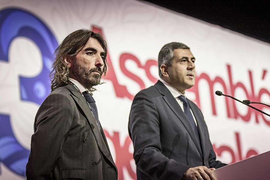 Javier Hidalgo y Zurab Pololikashvili