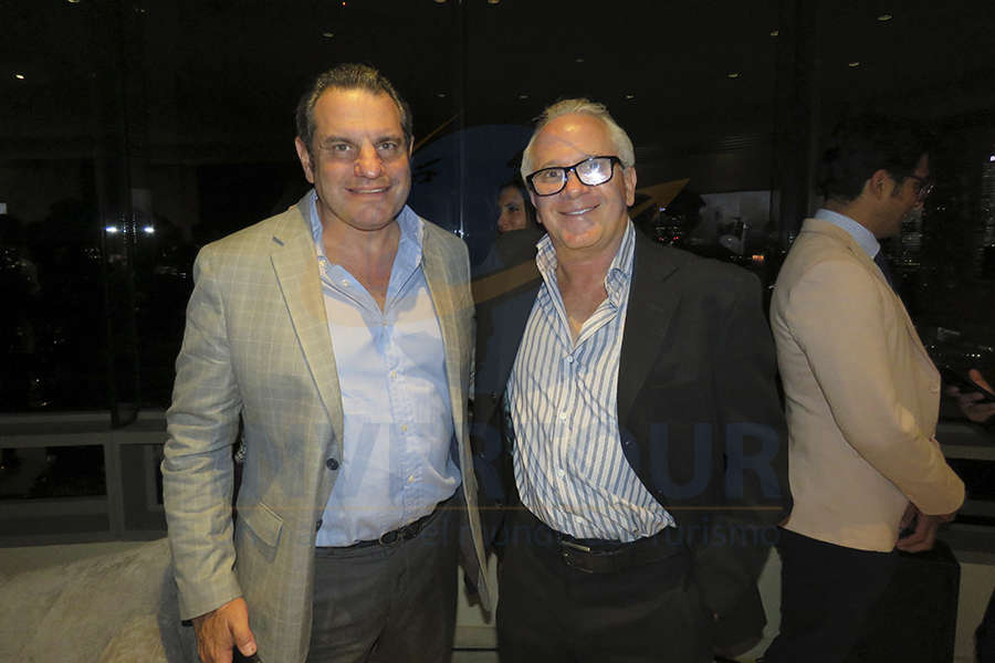 Moisés Braverman con Simón Buzali
