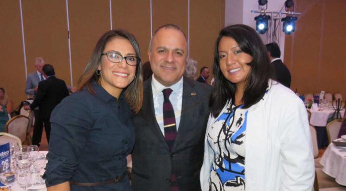 Ana Serrano, Benjamín Izquierdo y Paty Torres