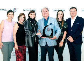 Bárbara Karim, Lucía Guerra, Mercedes Cuevas, Lorenzo Salsamendi, Tania Mizrahi y Raúl Lazo de la Vega