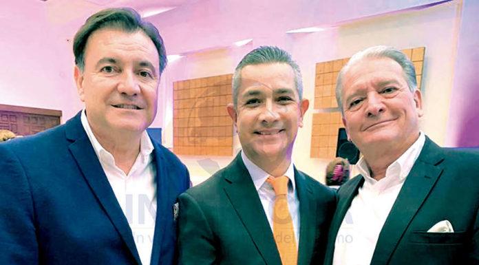 Raúl Lazo de la Vega, Jaime Díaz y Lorenzo Salsamendi