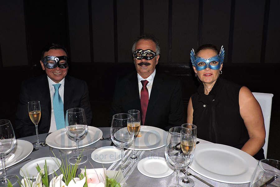 Josué Meza, Guillermo Miranda y Claudia Miranda