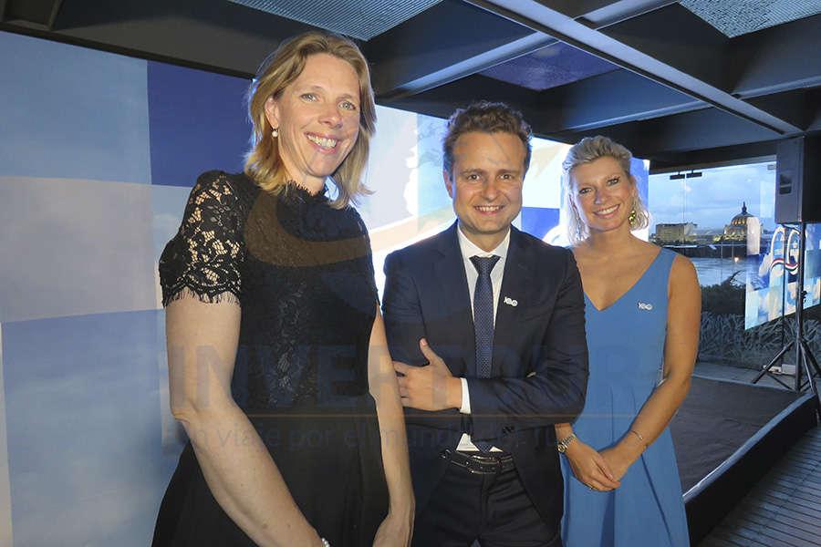 Jacomien Dijkstra, Guilhem Mallet y Maud Oostenbrink