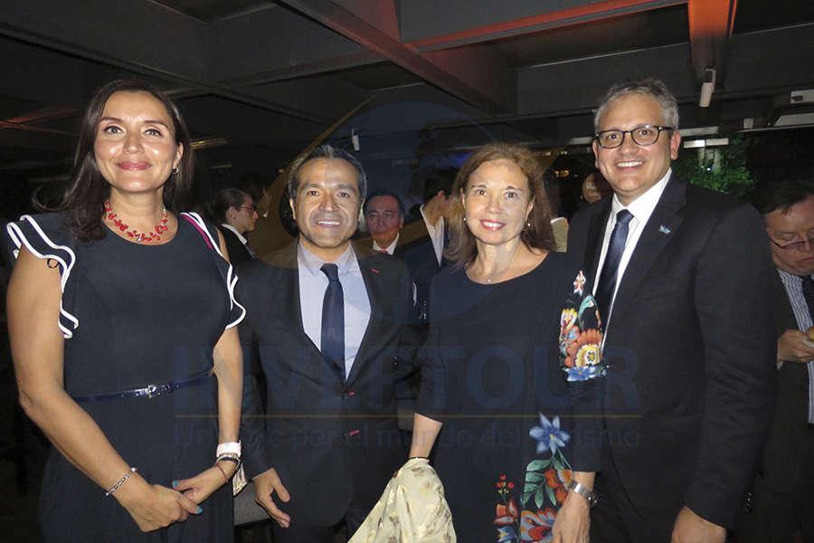 Diana Olivares, Cuitláhuac Gutiérrez, Cecilia Beltrame y Demetrio Acevedo