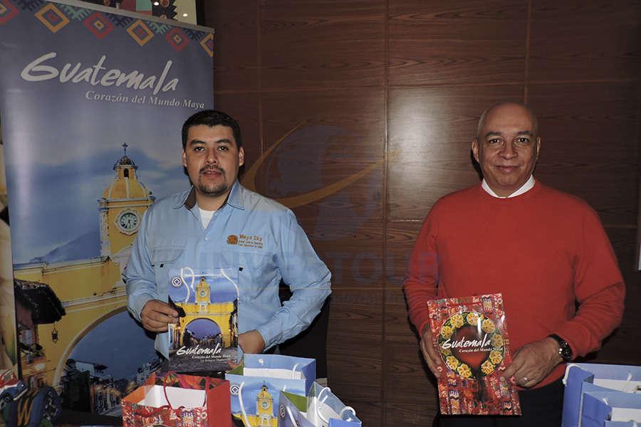 Gustavo Nolasco y Marco Tulio