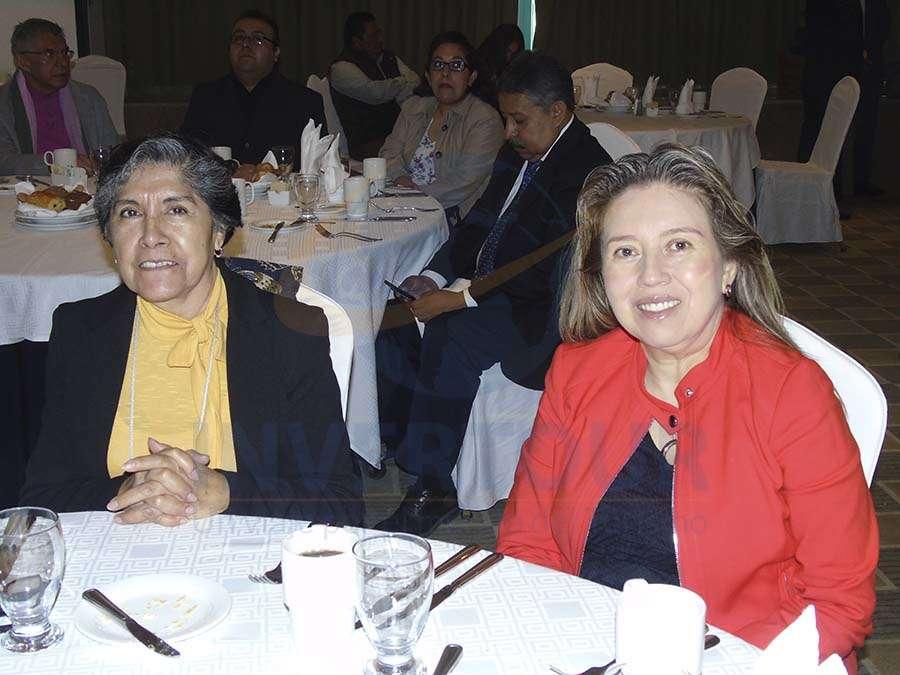 María Zárate y Beatriz López
