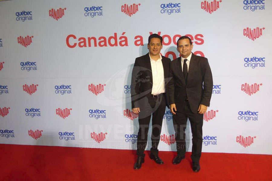 Edgar Hidalgo y Mauricio Bustamante