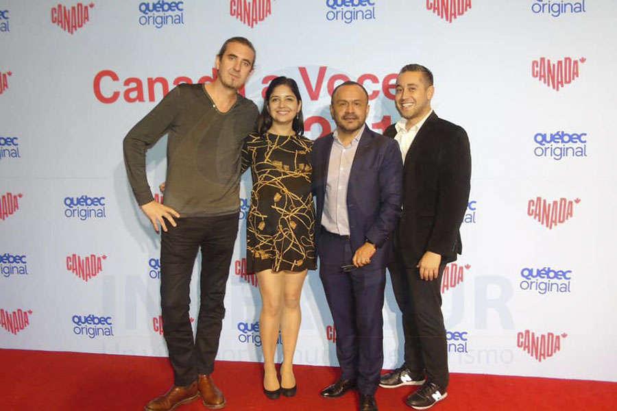 Jordi Llorens, Marcela Carmona, Miguel Galicia y Rubén Mora