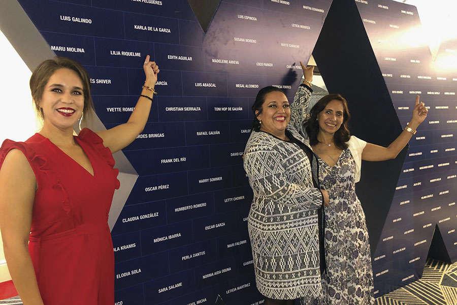 Karla de la Garza, Mayte Camacho y Karelia Paralizabal