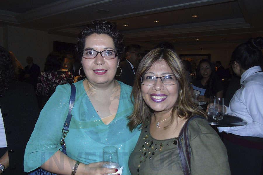 Yunuen Hernández y Susana Morales