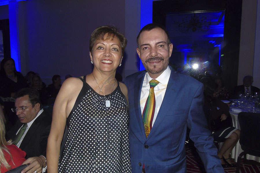 Yolanda González y David Garduño