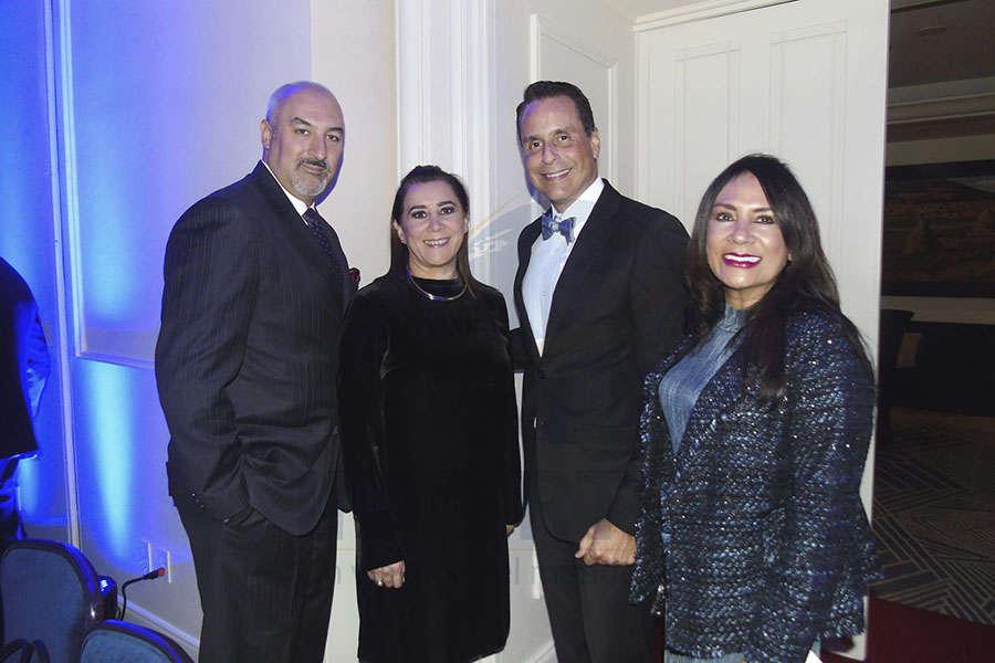 José de Iturbide, Sylvia Esquivel, Frank Medina y Ruth Leal