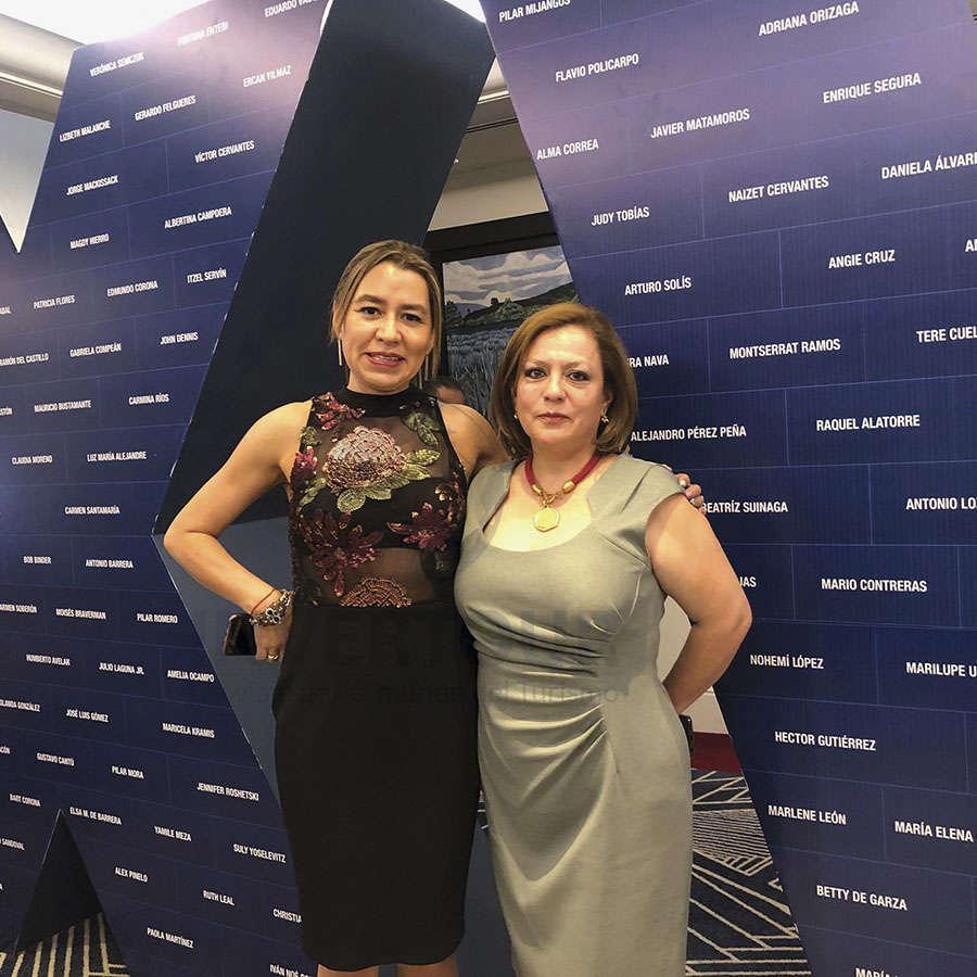 Minerva Hernández y Ofelia Ortiz