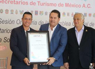 José Enrique Manos, Luis Araiza y Miguel Torruco
