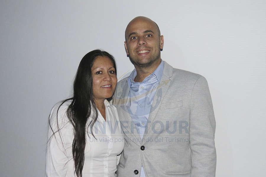Marcela López y Diego Gayo
