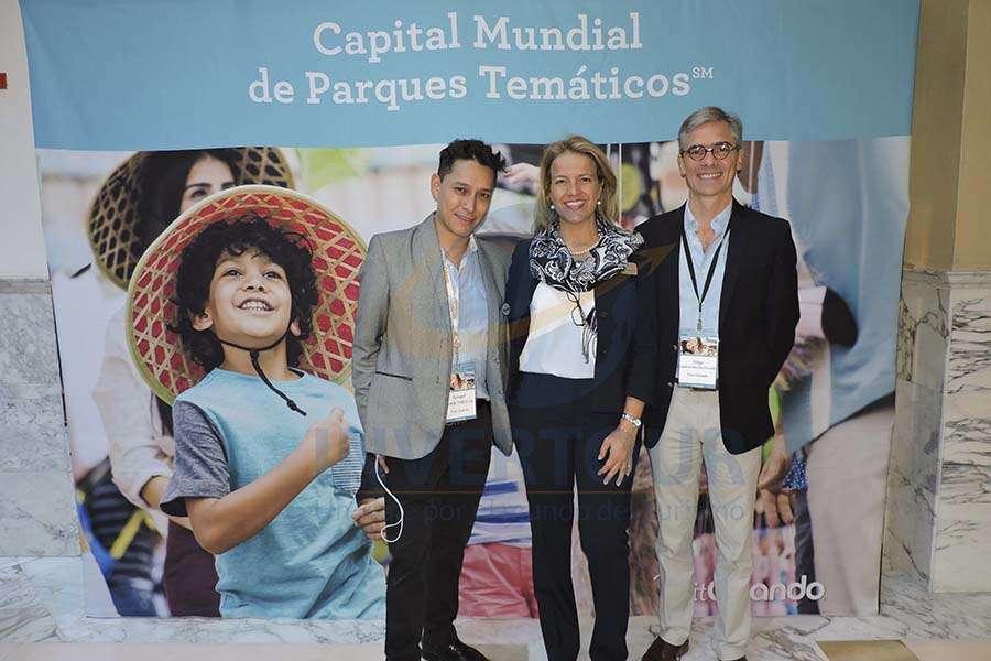 Isamel Borja, Alexandra Katopodis y Jorge Morfín